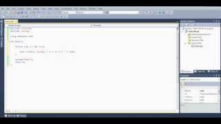 Microsoft Visual Studio C++ Tutorial 11 (for loop), HD