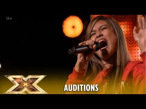 Maria Laroco: The Brits STAND-UP For This Incredible Filipino 17yo STAR! | The X Factor UK 2018