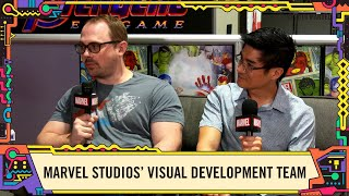Marvel Studios visual development team talks Avengers: Endgame @ SDCC 2019!