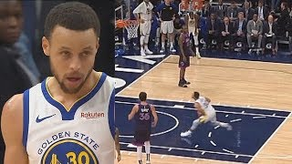 Stephen Curry Wanna Murder The Rim With Angry Dunk & Goes Crazy vs Timberwolves!