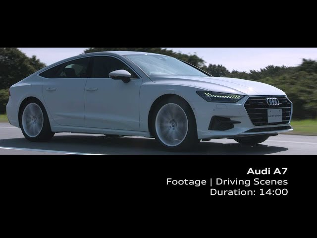 Audi A7 Footage_Driving Scenes