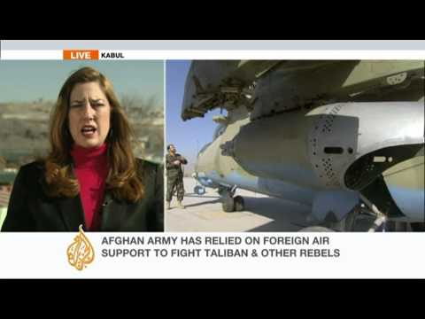 Karzai: Afghan forces banned from calling NATO air strikes