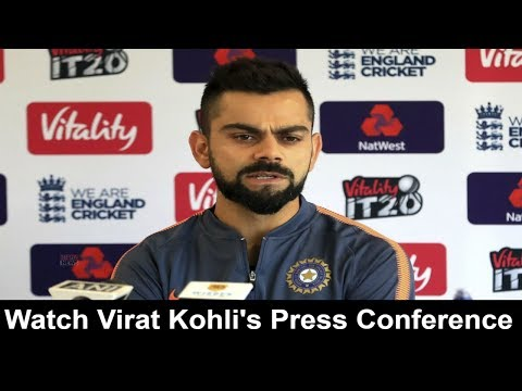Watch Virat Kohli's Press Conference before india vs england 1st T20 match 2018 I neganews