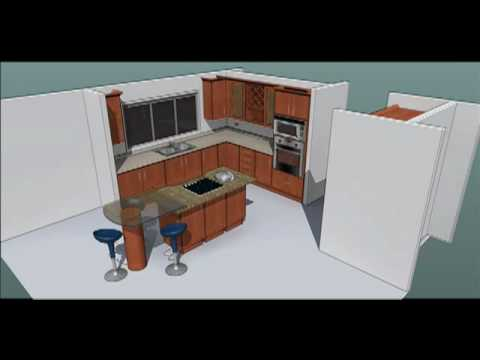 Maderex como medir mi cocina youtube for Como remodelar mi cocina pequena
