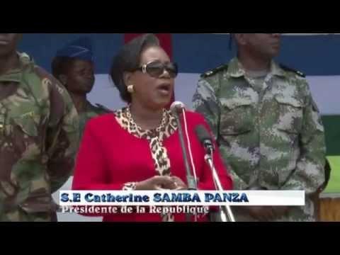 CATHERINE SAMBA PANZA VISITE A BOUAR:L'infidelité sécuritaire de la population