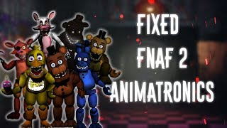 [FNAF   Speed Edit] Making Fixed FNAF2 Animatronics Part2