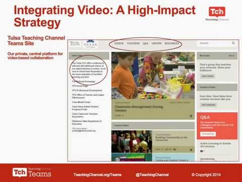 Using Video for Professional Learning Research Based Strategies