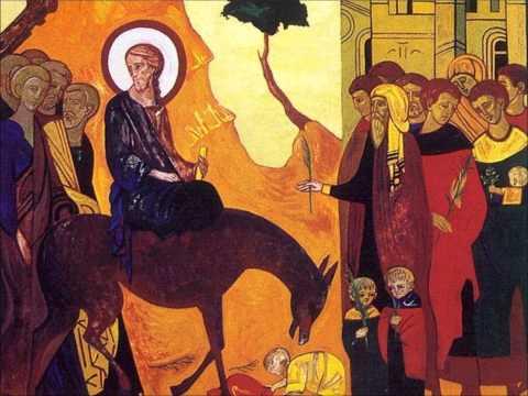 Gregorian Chant - Hosanna filio David