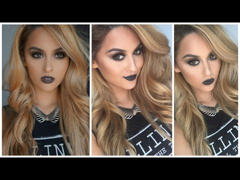 Halloween Inspired/ Gothic Glam Makeup