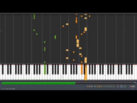 Pokémon GSC - Violet/Olivine City Piano Arrangement (Synthesia)