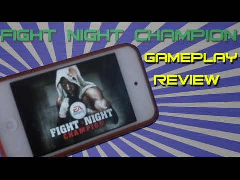 Fight Night Champion by EA Sports™ iPod Touch 4G Review & Gameplay