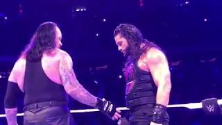 The Undertaker showed the ultimate sign of respect to Roman Reigns and Braun Strowman