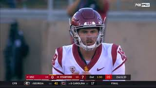 2018 - USC Trojans at Stanford Cardinal in 30 Minutes