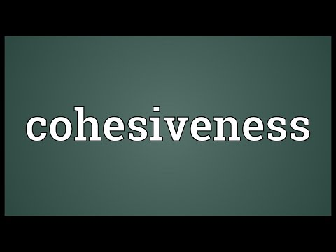 Header of cohesiveness