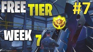 Free Tier Season 4 WEEK 7 Free Battle Pass Tier (BLOCKBUSTER #7) - Fortnite Battle Royale