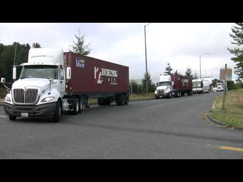Washington State Special Olympics Convoy 2011