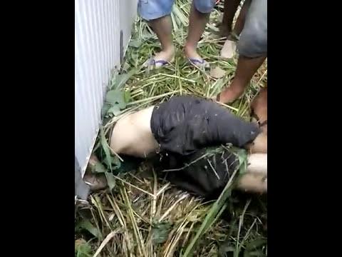 Vídeo chocante do corpo preso em baixo do caminhão tombado em São José dos Basílios