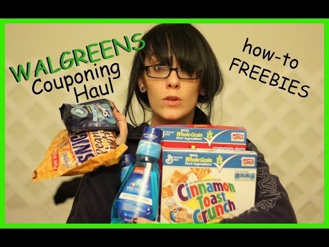 Couponing Haul- How to- Walgreens- (week of 10/27/13)