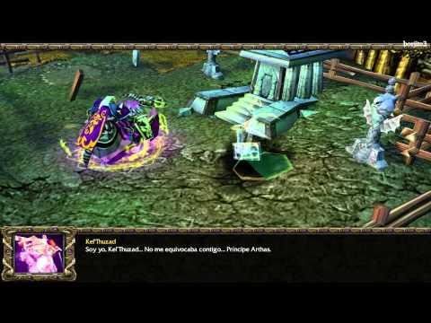 Warcraft 3 Historia en Español (HD) - Parte 8 - Reign of Chaos