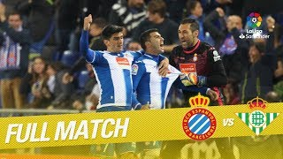 Full Match RCD Espanyol vs Real Betis LaLiga 2016/2017
