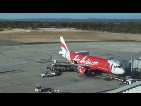 Air Asia A320-200 Turnaround timelapse