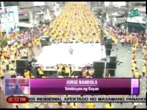 News@1: World record para sa pinakamalaking zumba class, nasungkit ng Mandaluyong City