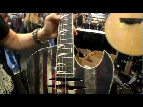 DEAN GUITARS NAMM 2012 DAVE MUSTAINE Signature Mako Glory Acoustic