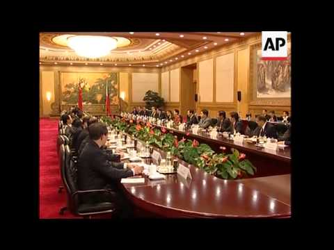 Philippines President Arroyo visits China