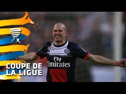 OL - PSG (1-2) - Résumé - Finale Coupe de la Ligue 2014 - (Olympique Lyonnais-Paris Saint-Germain)