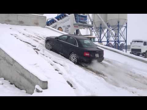 Audi A4 B5 2.8 s-line manual in snow (MIRONA)