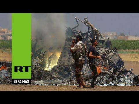 Entretenimiento-Derriban en Siria un helicóptero ruso