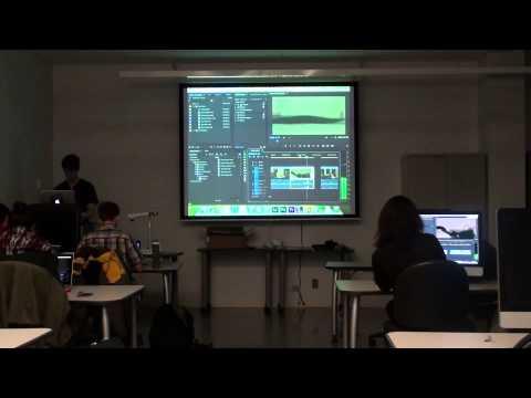 Adobe Premiere Pro CC Workshop at University of Toronto Mississauga