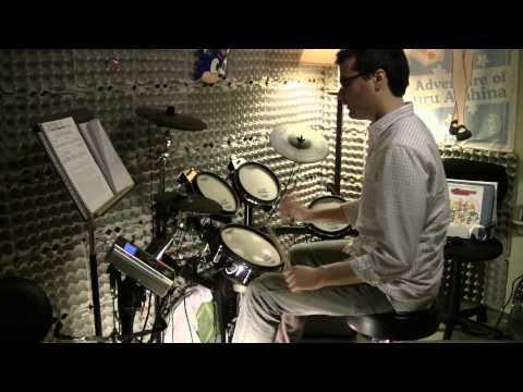 Clannad, Megumeru メグメル Cuckool Mix 2007を叩いてみた (Drum Cover)