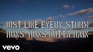 Gary Allan - Every Storm (Runs Out Of Rain) - Lyric Video
