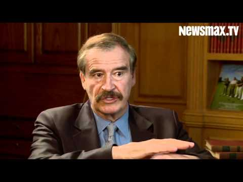 Former Mexican Prez Vicente Fox: We're at War With Drug Cartels
