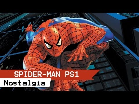 Gameplay Spider-man PS1 - GAMEPLAY