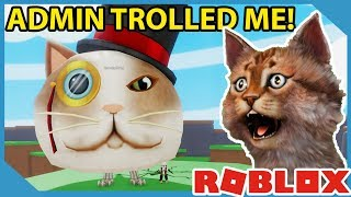 The Admin Trolled Me in Roblox Slingshot Simulator