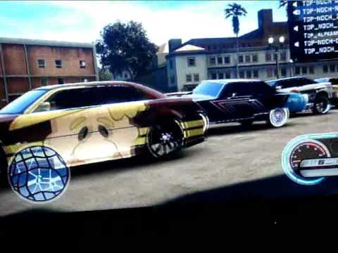 Midnight Club Los Angeles (custom cars) TOP NOCH