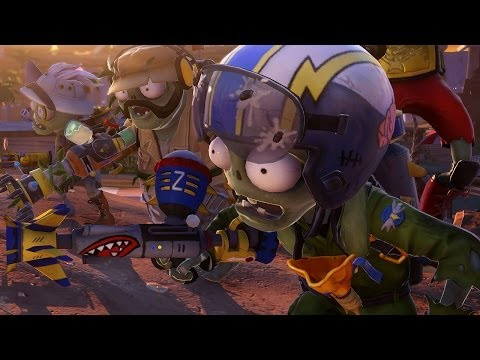 Plants vs. Zombies: Garden Warfare A Full Match as Zomibes in Zomboss Down