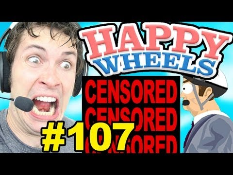 Happy Wheels - CENSORED!!