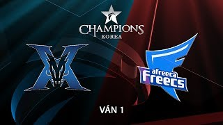 [15.08.2018] KING-ZONE vs Afreeca [LCK Hè 2018][Playoffs][Ván 1]