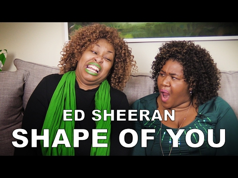 GloZell Reviews Ed Sheeran's Shape of You