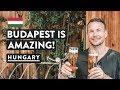 BUDAPEST IMPRESSIONS   Ruin bars, St Stephens Basilica & Jewish Quarter   Hungary Travel Vlog
