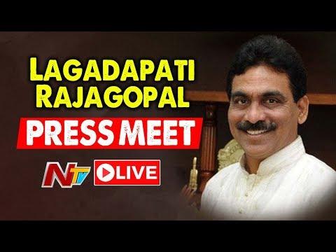 Lagadapati Rajagopal Press Meet LIVE | Telangana Elections 2018 | NTV Live