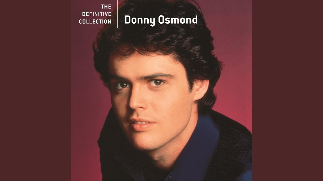 Donny osmond 2018