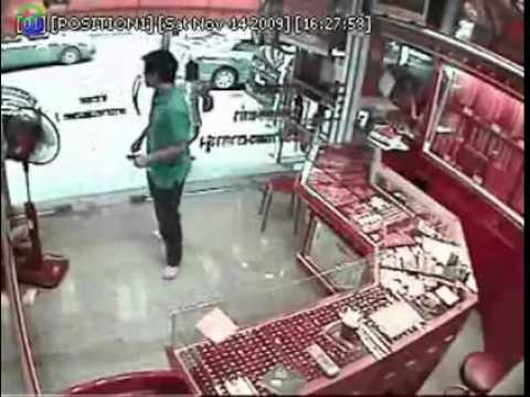 Gold Shop Robbery in Thailand