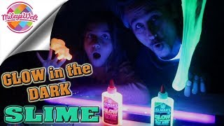 GLOW IN THE DARK SLIME - leuchtender Schleim DIY | Mileys Welt