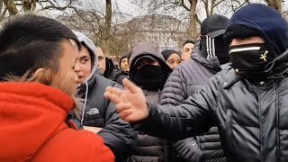 PUNISH A MUSLIM DAY | HATE PREACHER CONFRONTED | TAN ARRESTED | SPEAKERS CORNER