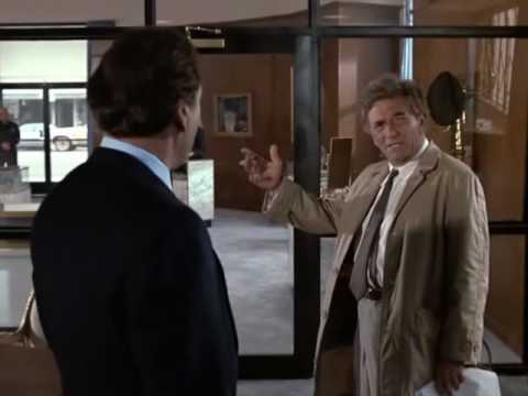 Columbo's Great Investigative Style