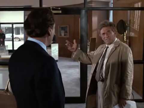 Columbo's Great Investigative Style
